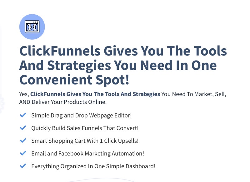 Clickfunnels review features 2021