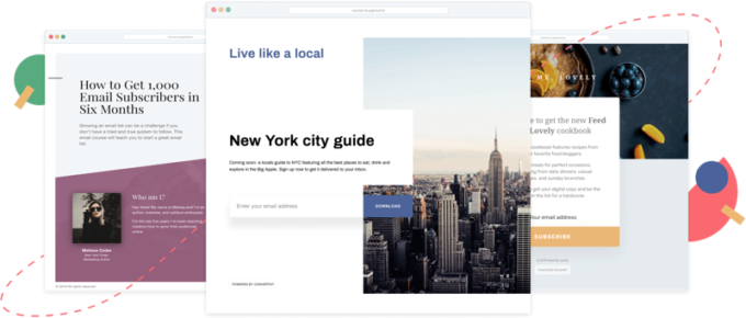 Convertkit landing pages review 2020