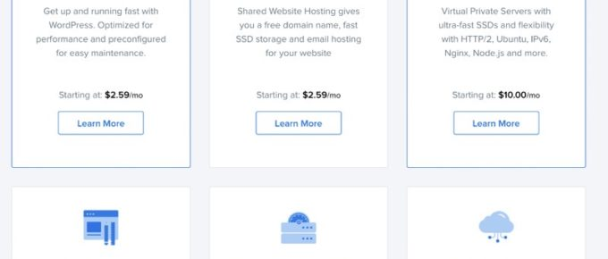 Dreamhost Pricing Plans