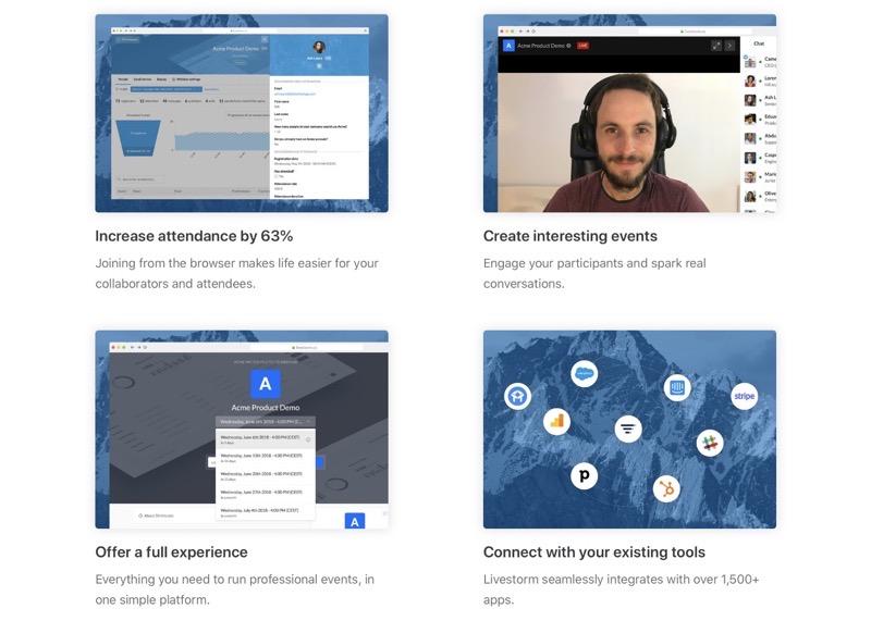 Lifestorm webinar platform