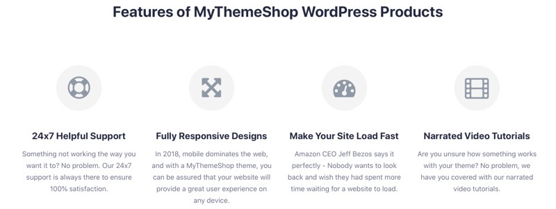 MyThemeShop features reviews