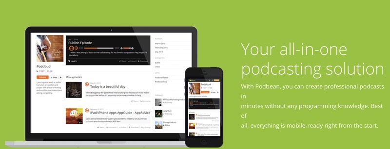 Podbean podcast hosting review