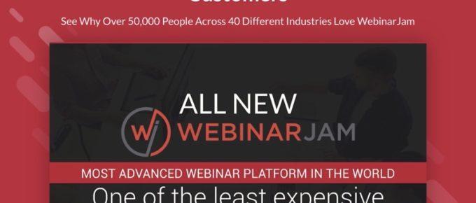 WebinarJam discount code