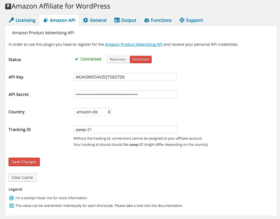 aawp amazon affiliate wordpres plugin