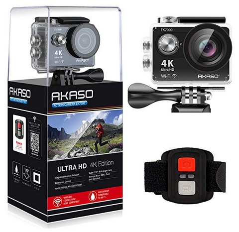 best action camera under $100 2019 akaso ek7000