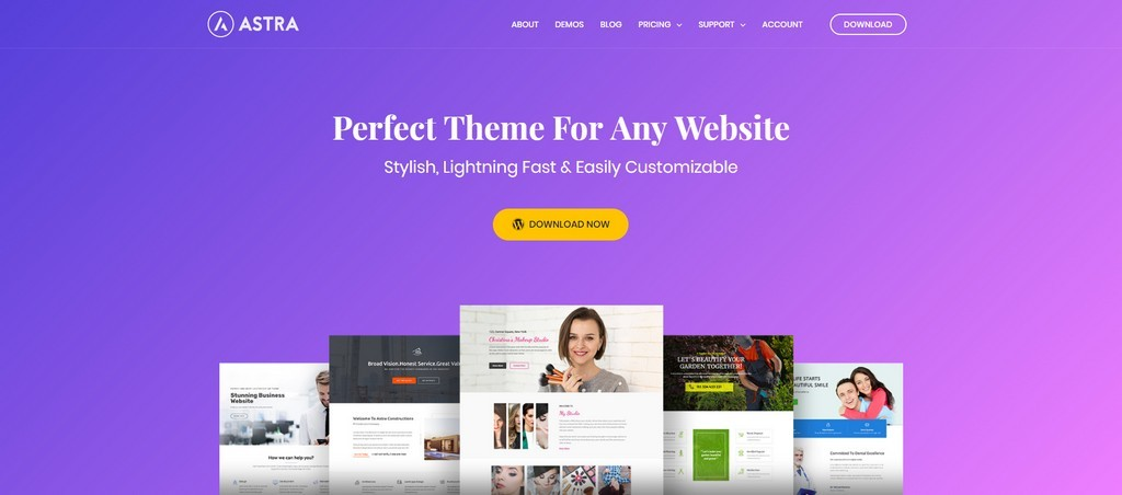 best free wordpress seo theme astra