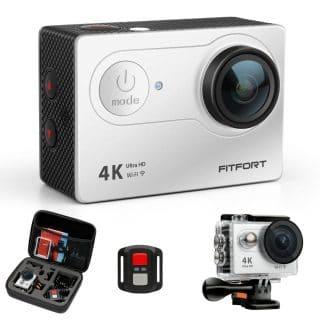 best gopro knockoff fitfort action camera 4k