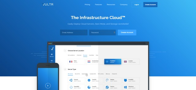 best cheap cloud hosting vultr