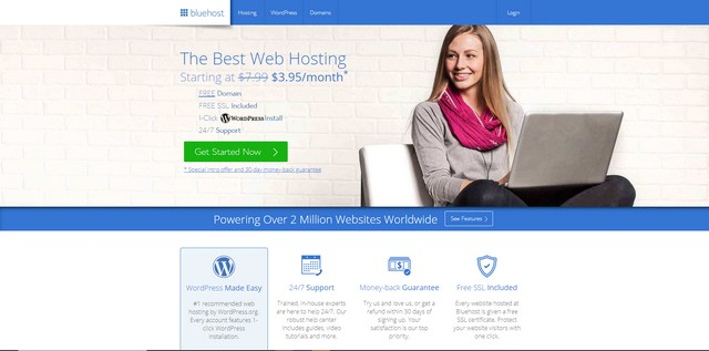 best cheap cloud hosting bluehost
