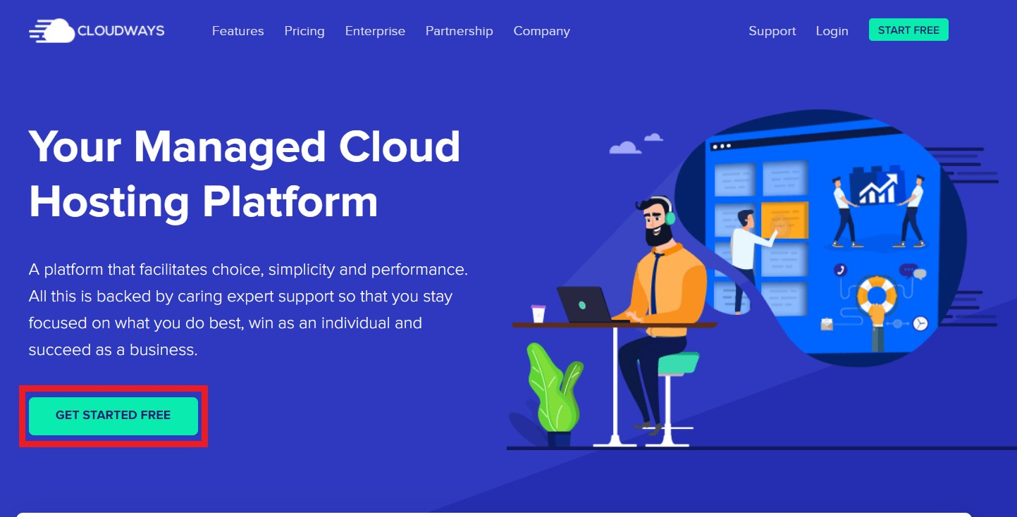 wordpress hosting free trial without credit card cloudways