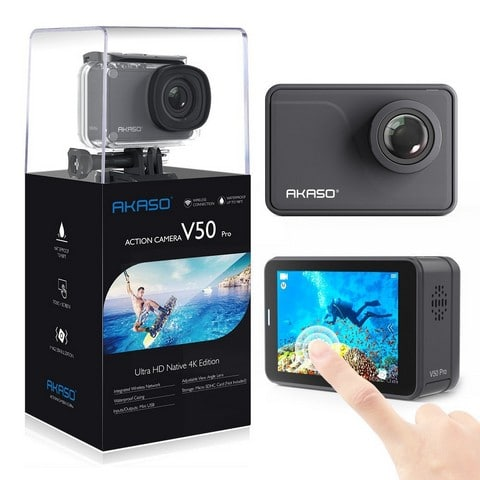 akaso pro native gopro alternative 2018