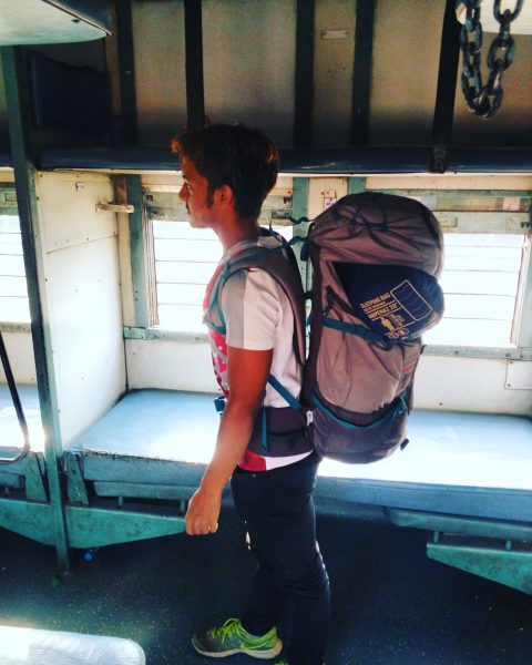 everything i own fits in this backpack