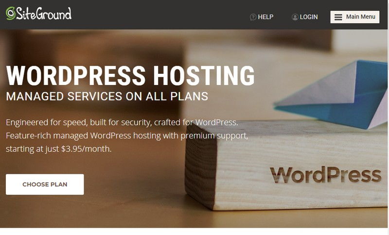 siteground managed wordpress hosting 2020