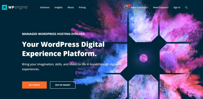 wpengine managed wordpress hosting 2019