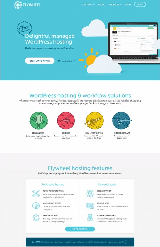 flywheel studiopress managed wordpress hosting 2019