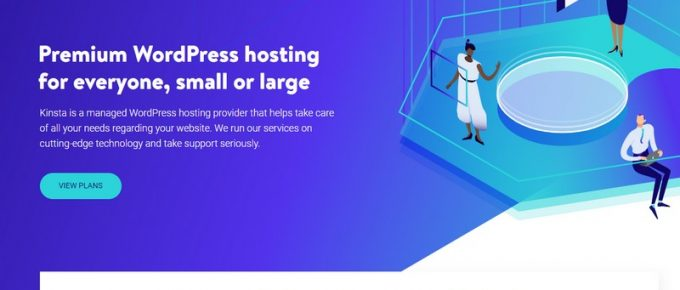 kinsta managed wordpress hosting 2018