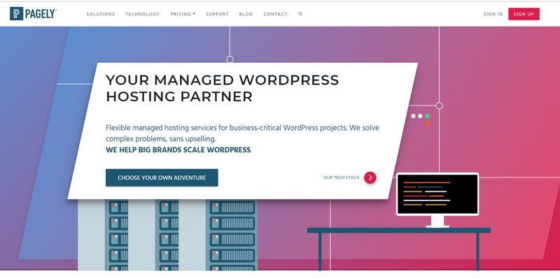pagely studiopress managed wordpress hosting 2019