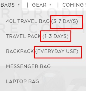 nomatic bag discount 2019