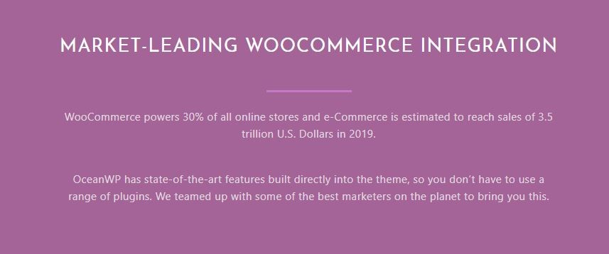oceanwp and woocommerce
