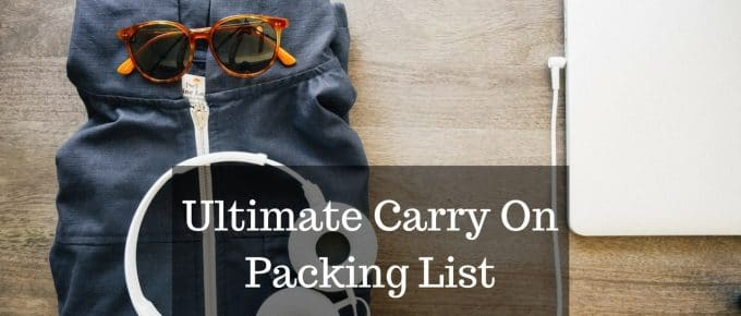 My Ulimate Carry-On Packing List