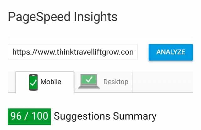 how to speed up wordpress pagespeed insights