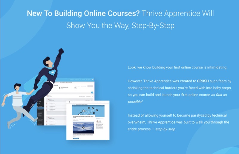 Thrive apprentice course builder review