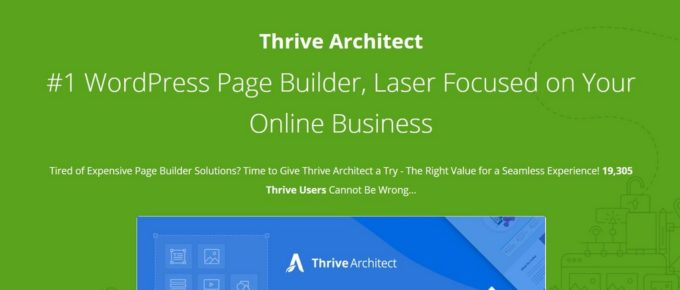 thrive architect vs thrive theme builder