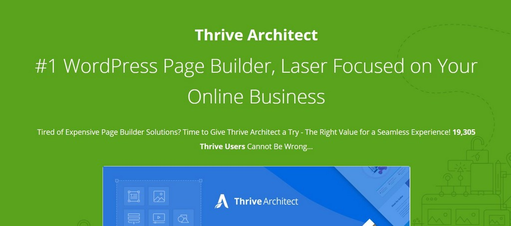 Thrive Architect - Budget WordPress Landing Page Builder Plugin