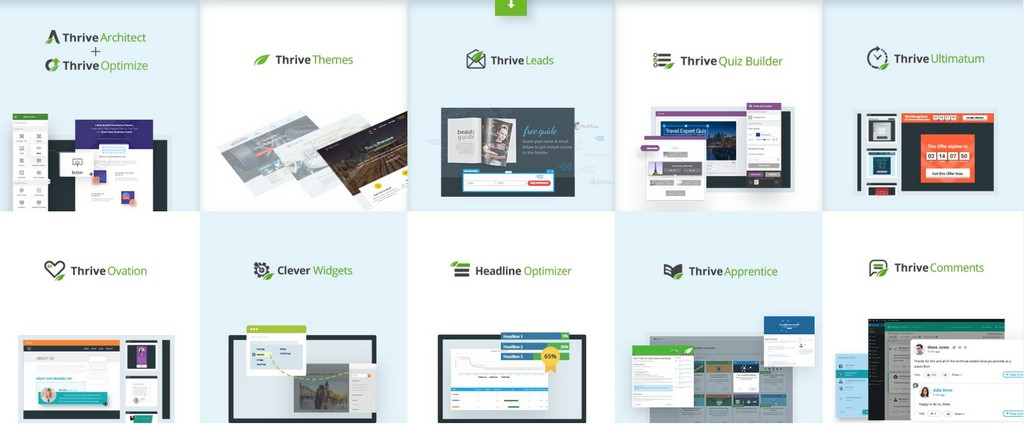 thrive themes alternatives