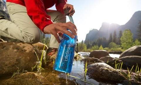 best travel water filter bottle