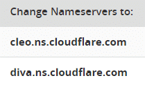 w3 total cache settings 2018 cloudflare nameservers