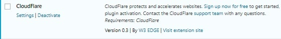w3 total cache settings 2020 cloudflare settings