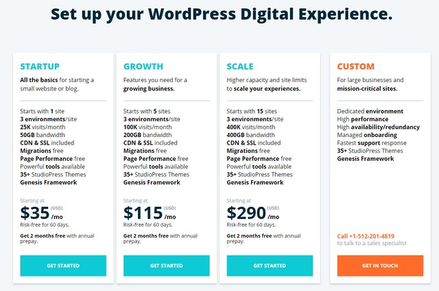 wpengine pricing plans promo code
