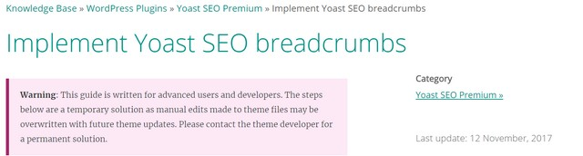yoast seo wordpress breadcrumps settings